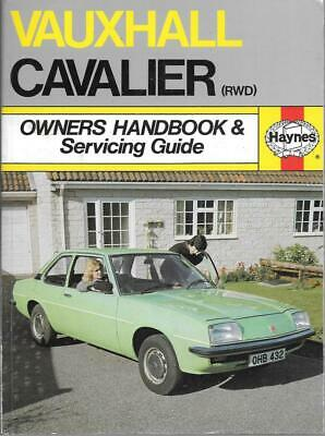 Vauxhall Cavalier Owners Handbook/Servicing Guide - Ian Coomber - Acceptable ...