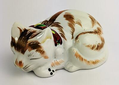 JAPANESE KUTANI PORCELAIN CAT ORNAMENT Early 20th Century