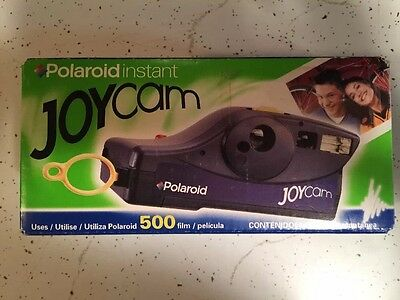 Polaroid Joycam Instant film Camera, Color Black NEW
