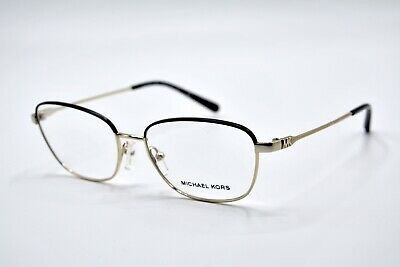 55209cb905a51 New Michael Kors Eyeglasses Mk 3027 Key Largo1014 Shiny Pale Gold  145