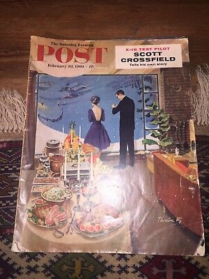 Saturday Evening Post Magazine February 20, 1960 Photos, Ads, Mad Men