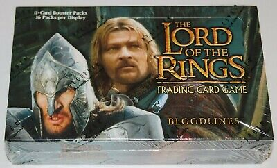 Lord of the Rings TCG, Bloodlines Booster Box, 36-Packs SEALED