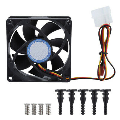 Practical 80mm 2200RPM High-performance Computer PC 3 Pins Case Cooling Fan