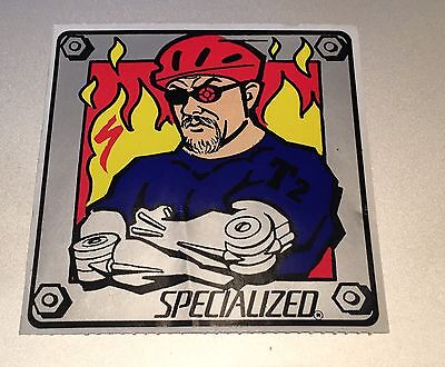 Specialized T2 MTB Terminator Collectible STICKER Todd Tanner Reynolds Cycling