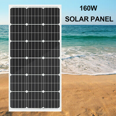 250W 160W Mono Poly  Solar Panel & 20A Mppt Controller & CMG Regulator
