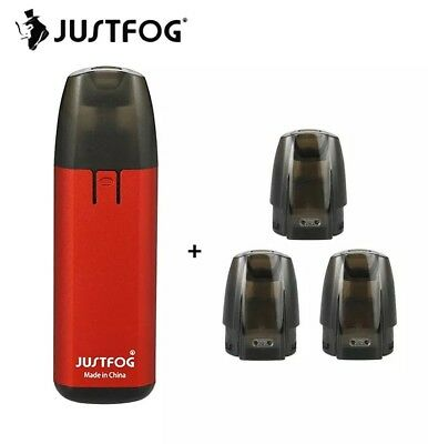 - JUSTFOG - Minifit Starter Kit 370mAh all in one vape kit pod vaping device