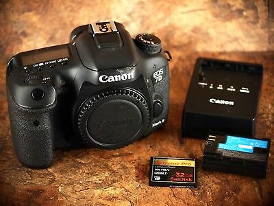 Canon EOS 7D Mark II Camera + 32GB Card - Excellent