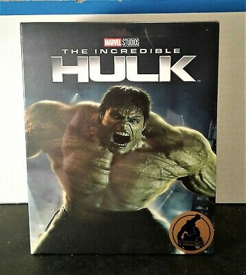 The Incredible Hulk 4K+2D Blu-ray SteelBook Blufans One Click #30 NEW-PRE-ORDER