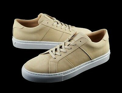 Clothing, Shoes & Accessories Greats Womens The Royale Neutral Tan Suede With White Sole Leather Italy 9.5 Comfort Shoes
