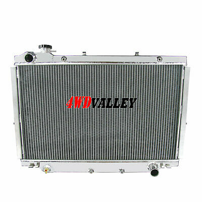 3 Row Radiator For 1990-1997 96 1995 Toyota Land Cruiser 4.0//4.5L 3956//4477CC l6