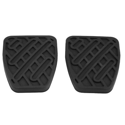2pcs Brake Clutch Pedal Pad Rubber Cover for Nissan Qashqai 2007-2016 46531JD00A