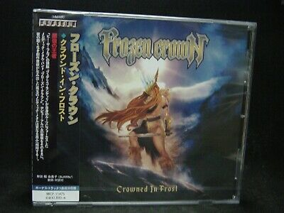 FROZEN CROWN Crowned In Frost + 1 JAPAN CD Ashes You Leave Be The Wolf Italy HM