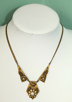 antikes Collier, Jugendstil, Kette, Necklace, alt, um 1900, Halshette, Collier