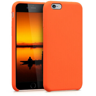 Silicone Case for Apple iPhone 6 6S - TPU Rubberized Cover