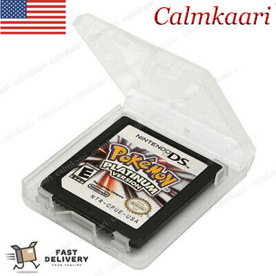 2019 Pokemon Platinum Version Game Card for DS 2/3DS NDSI NDS NDSL Lite New US