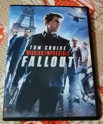 Dvd Tom Cruise Mission Impossibile Fallout