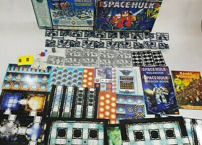 SPACE HULK 2nd edition BOARD GAME - 100% complete NEW [ENG,1996]