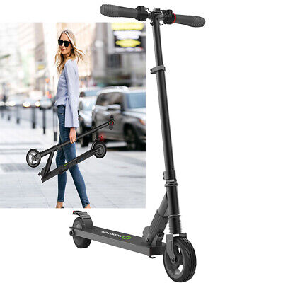 250W Foldable E-scooter Megawheels Black Teen Adults Electric City Scooter S1