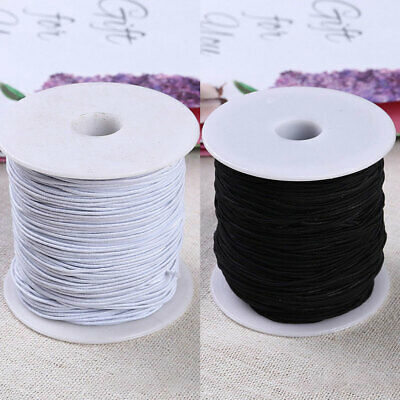 100M 1.0mm Stretchy Elastic Crystal String Beading Cord Thread Wire Rope Chain