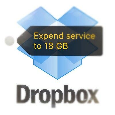 Expend Dropbox Drop Box To 18 GB Lifetime