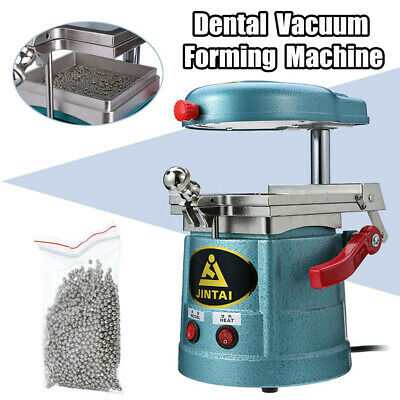 Dental Vacuum Forming Molding Machine Lab Heat Thermoforming Former + Steel Ball