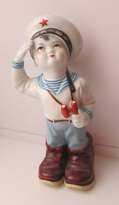 Young sailor boy Porcelain Chinese figurine figure Old China Jingdezhen