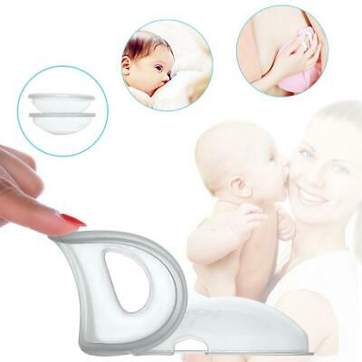 2 PCS/Pack Breast Milk Collector Storage Cover Nipple Correction Device Reusable
