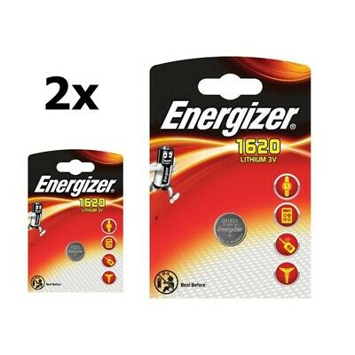 AU BS313-2x Energizer CR1620 lithium button cell battery 2 Pieces