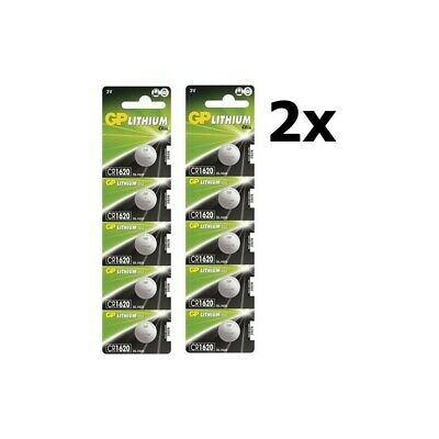 AU BS315-2x GP CR1620 lithium button cell battery 2x Blisters