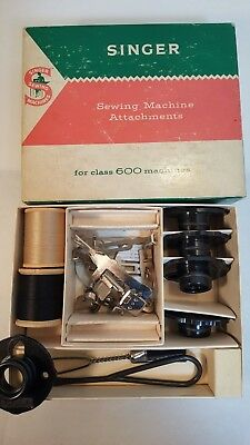 Vintage Singer Sewing Machine Attachments for Class 600 Machines