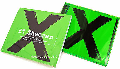 ED SHEERAN CD X Deluxe Edition with BONUS TRACKS New UNPLAYED 2014 Album + Promo
