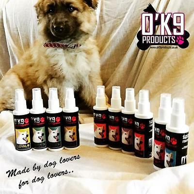 O'K9 Dog Cologne/Perfume - 10 Designer Dog Fragrances Smells Like Real Perfume