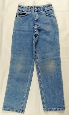 Kids NExt Tough Wear Denim Jeans 6 - 7 Years Blue Classic Straight leg Regular