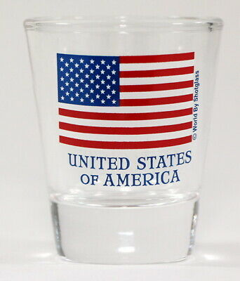 Usa Flag Shot Glass Shotglass
