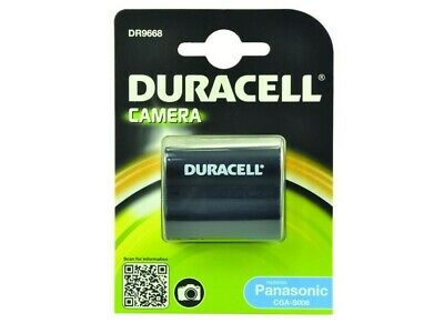 Duracell DR9668 Replacement Digital Camera Battery For Panasonic CGR-S006 New Uk