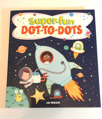 SUPER FUN DOT TO DOTS BOOK Childrens Drawing & Learning Fun Facts FULL COLOUR Pg