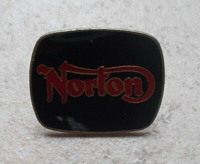 Badge Vintage Pins Moto Motorcycles NORTON Emblème UK