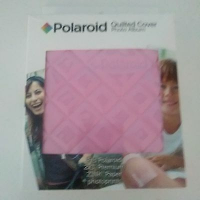 Polaroid 64-Pocket Photo Album w/ Sleek Quilted Cover for Zink 2x3 Photo Pape...