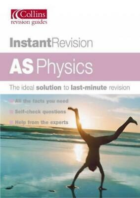 Instant Revision – AS Physics - Martin Gregory - Collins - Good - Paperback