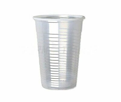 Plastic Disposable Clear Cups. Drinking Glass for Vending Machine. 7oz/180ml 8cm