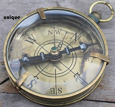 Nautical Marine Spencer Compass Maritime Vintage Directional Gift Astrolabe