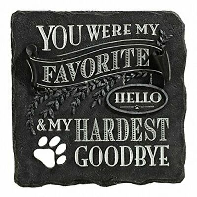 Pet Memorial Plaque Engraved resin Stone for pets