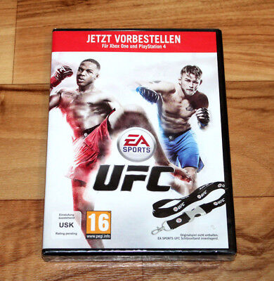 EA Sports UFC Xbox One PS4 Pre Order Box Includes a Lanyard No Game Collectible