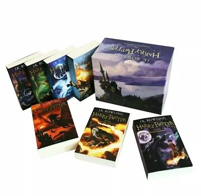 The Complete Harry Potter Boxed Gift Collection J. K. Rowling 7 Books Set New