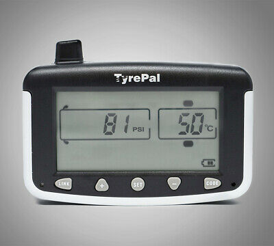 TyrePal TC215/B Tyre Pressure Monitoring System TPMS with 2 Sensors for Caravans