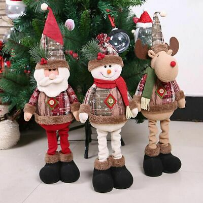 Santa Claus Snowman Tree Toy Doll Hanging Home Decorations Merry Christmas Gifts