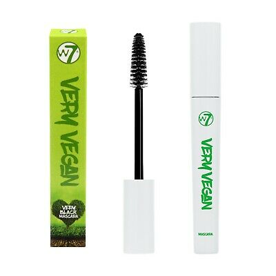 W7 Very Vegan Black Mascara - Paraben Free - Cruelty Free