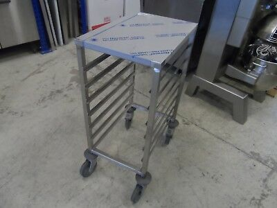 New Bourgeat P057 1/1 GN Gastronorm Racking Trolley 7 Runner £250 + Vat