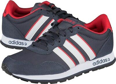 ADIDAS NEO RUNNEO V JOGGER Shoes F39333 Navy / Blue / Red / White ...