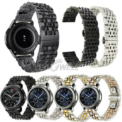 Stainless Steel Watch Band Strap Bracelet For Samsung Galaxy Watch 42mm 46mm